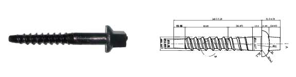 ASTMA66-87 screw spike