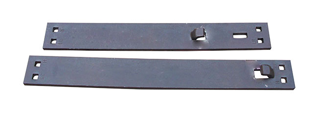 AREMA hook twin tie plate
