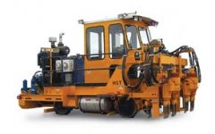 Typical railroad track repair equipment overview