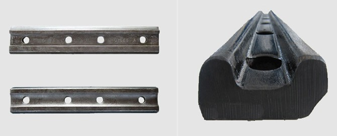 UIC54 & UIC60 rail joint bar