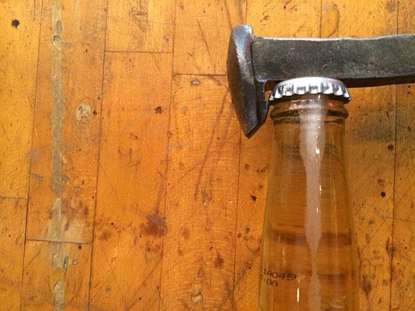 Superieur Railroad Spike Bottle   Opener