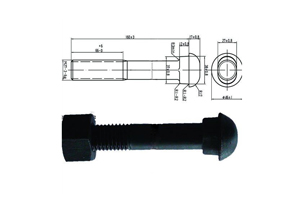 diomond neck track bolt