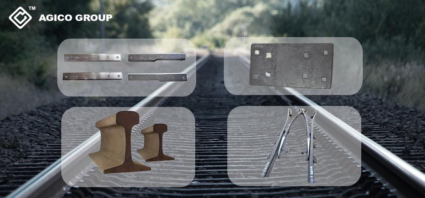 Basic Rail Components for Railway Track System