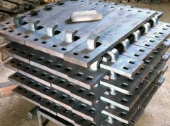 Hook Twin Tie Plates for Sale