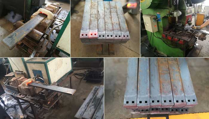 tie plate production