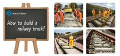 How to build a railway track?