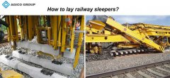 how to lay concrete railway sleepers