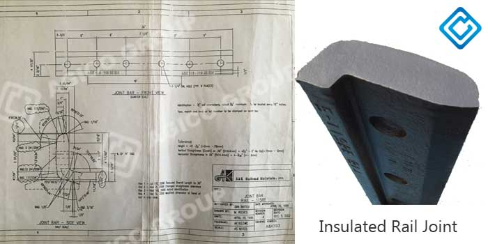 insulates rail joint-115RE