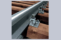 KPO clamp rail fastening system concrete