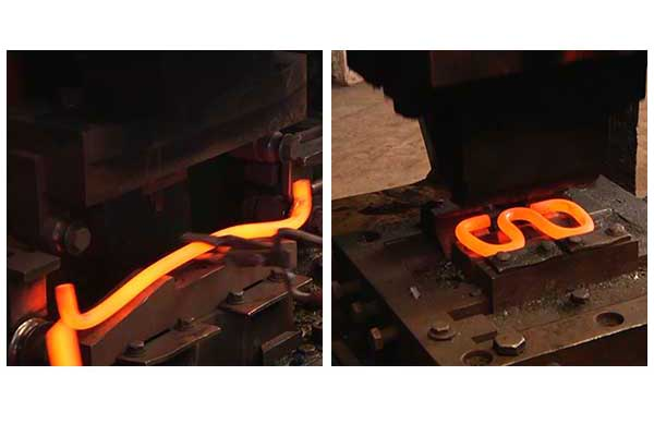 rail clip forming