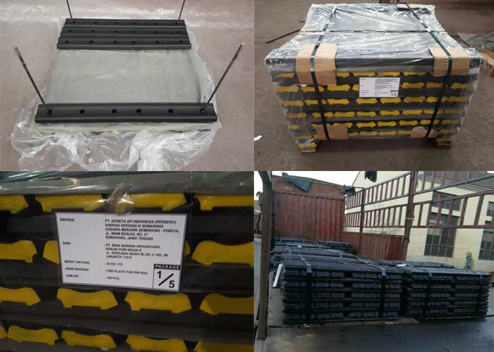 rail fish plates package