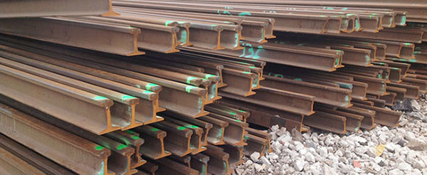 High Quality 43kg/m, 50kg/m and 60kg/m Rail Track Available