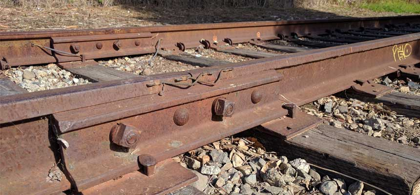 rail track and rail joint bar