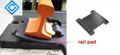 Does your railway rubber pad reach the standard?