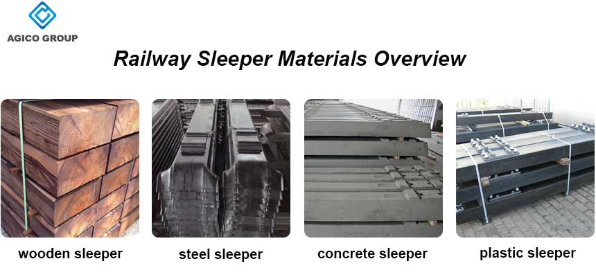 Railway Sleeper Materials Overview Wood Steel Concrete Plastic