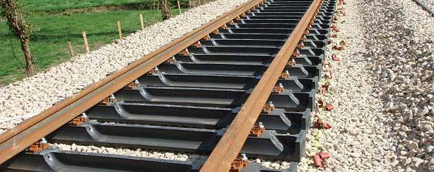 Railway Track Components Overview Rail Sleeper Rail