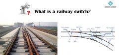 What is a railway switch?