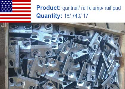Gantrail and fasteners project in the USA